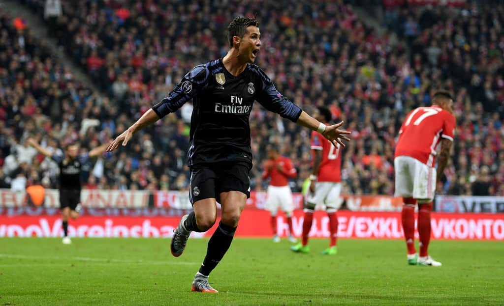 Ronaldo was on song for Real last season at Munich